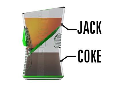 FlipShot Jack coke
