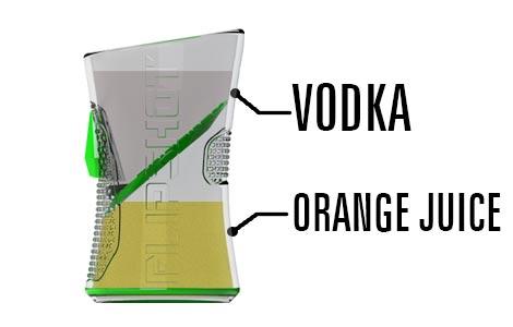 Flipshot Scewdriver OJ Vodka